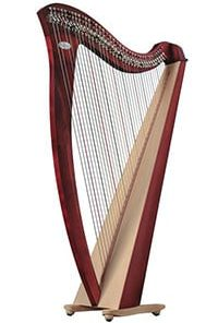 beginning harp 1 online course on Luma Learn
