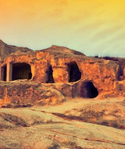 prehistoric cave city studied in online course on luma learn