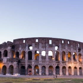 Great Colosseum, Rome, Italy studied in roman history online course on luma learn