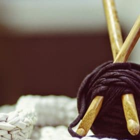 Crocheting with brown yarn Crochet with Dr. K: Loom Crochet/Knitting online course Luma Learn