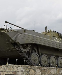 Military tank studied in military history online course on luma learn