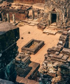 ruins from biblical days for online course on luma learn