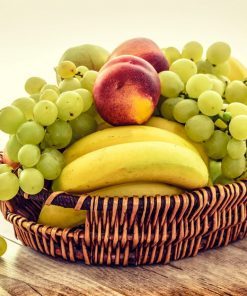 basket of fruit for online course in nutrion on luma learn