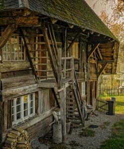 rustic home studied in history online course on luma learn