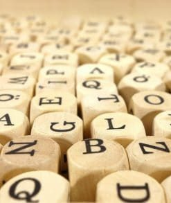 scrabble used in online course on luma learn